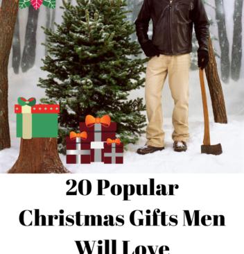 20 Popular Christmas Gifts Men Will Love