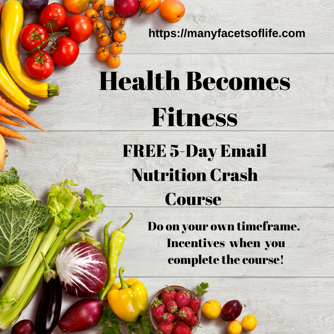 Health Becomes Fitness FREE 5-Day Email Nutrtion Course