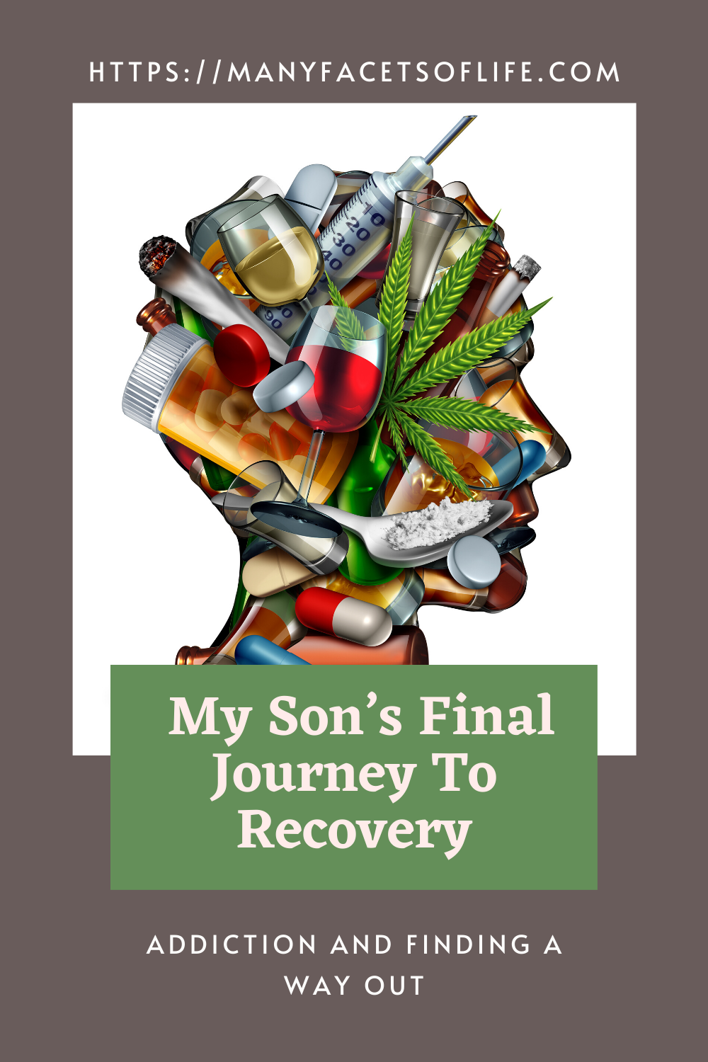 My son's final journey to recovery