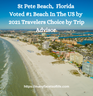 St. Pete Beach, Florida Voted #1 Beach In The US by 2021 Travelers Choice by Trip Advisor